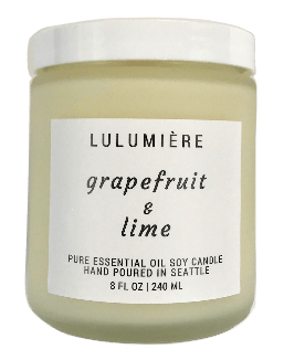 Pure Grapefruit Lime Candle
